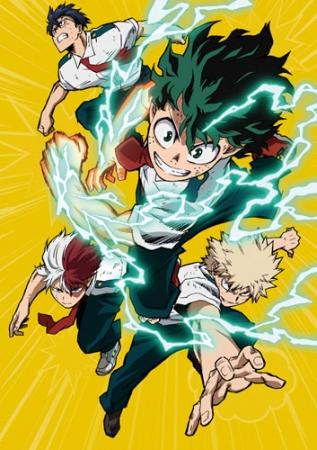 TVアニメ「僕のヒーローアカデミア」3rd vol.1パッケージイメージ
