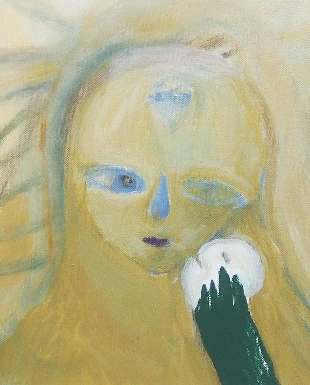 「人物」 2017年 キャンバスにアクリル
