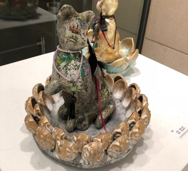 北鎌倉の工房で作られる妖艶な蝉丸さんの作品
