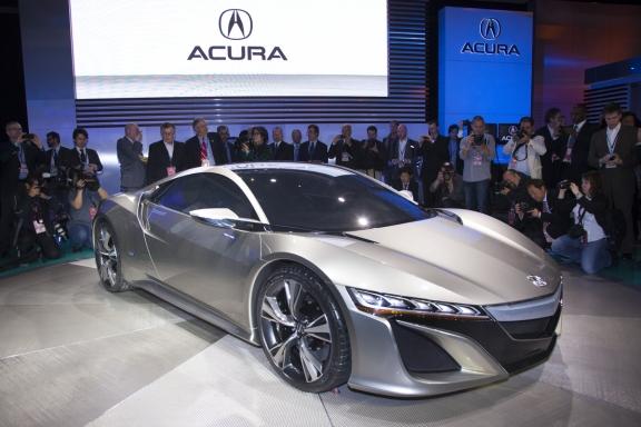 アキュラ NSX コンセプトモデル 2012