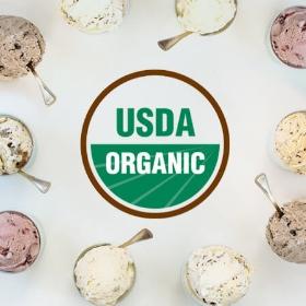 スリーツインズ アイスクリームはUSDAオーガニック認証を取得している