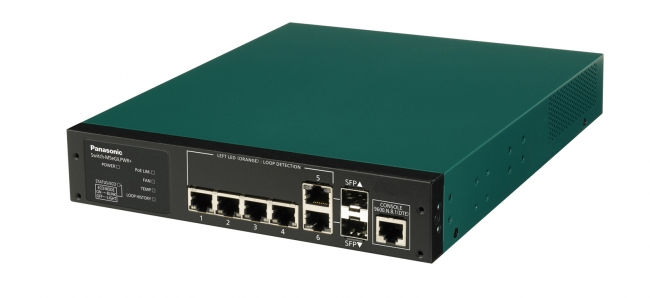 PoE Plus給電スイッチングハブ「Switch-M5eGiLPWR+」