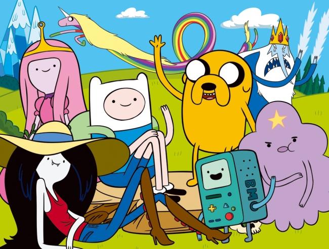 「アドベンチャー・タイム 」TM & (c) 2018 Cartoon Network.