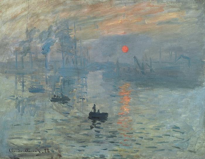 クロード・モネ『印象、日の出』,1892年
