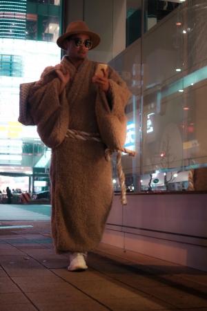 なめらかな肌触りと保温性を兼ね備えたリッチな装いである「Poodle」