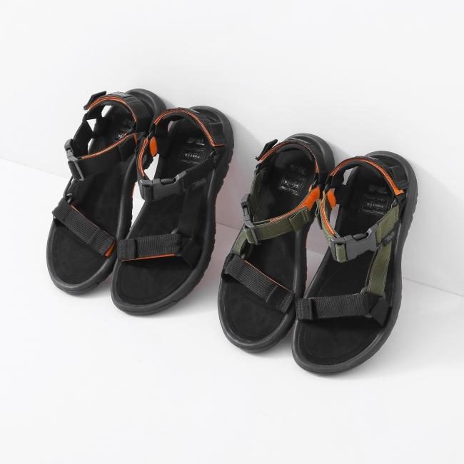 PORTER × Teva HURRICANE XLT 2(Black, Khaki・Black)