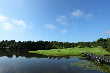 名勝負を繰り広げた武蔵丘ゴルフコース(No.17)