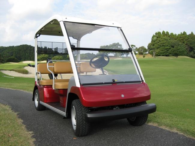 大原・御宿GC・乗用ゴルフカーで爽快プレー