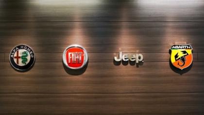 自動車界の名だたる外資メーカーのシンボルマークが並ぶ