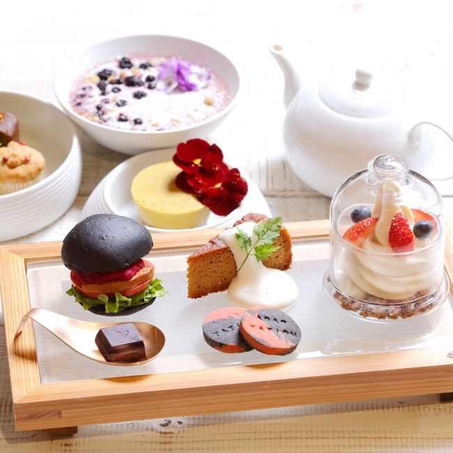 BEAUTY SWEETS AFTERNOON TEA SET 1,680円(税抜)~