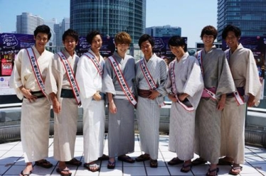 「みなと横浜ゆかた祭り」応援大使 SOLIDEMO