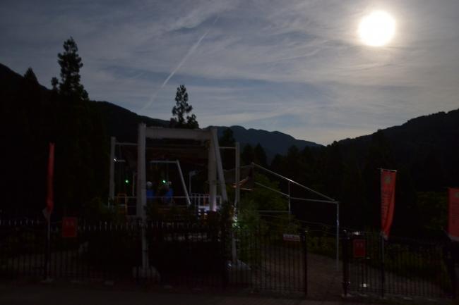 満月の様子