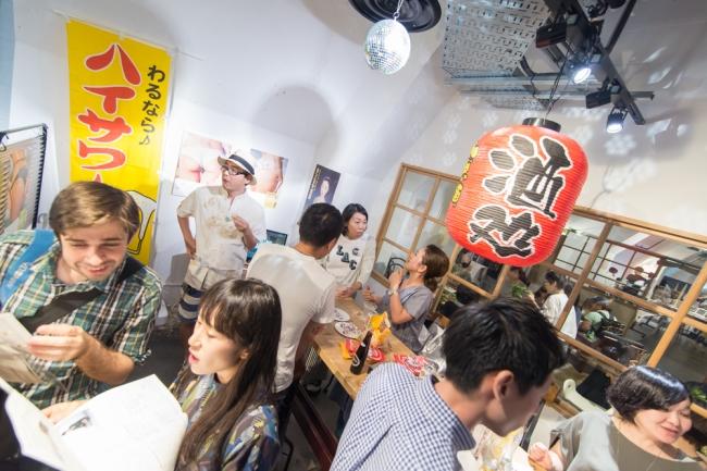毎年人気の昭和角打ちスペース
