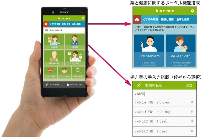 最新バージョンのスマートフォンアプリ(ver.3.0.1)