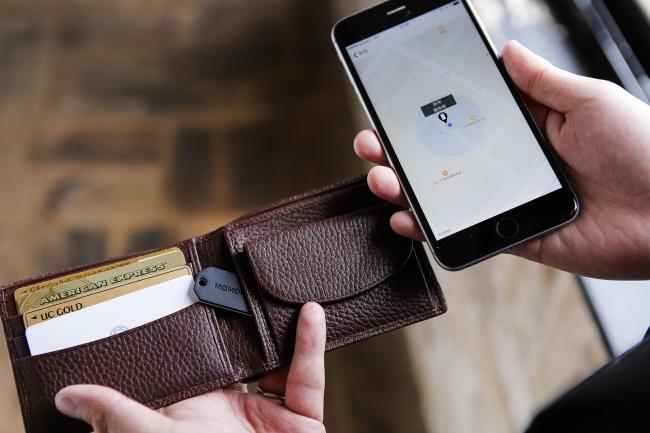 タグとスマホアプリの連携で紛失防止