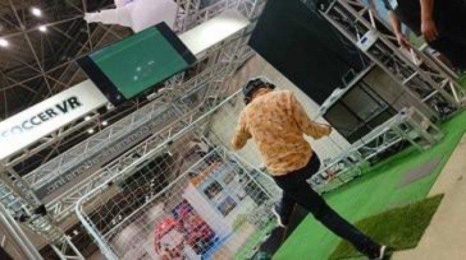 ソニーグループ、VRアトラクション『サッカーVR』を共同開発 | Mogura VR