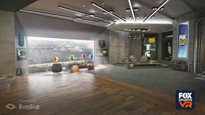 VRのスイートルームで友達とサッカー観戦 米放送大手が推進 | Mogura VR
