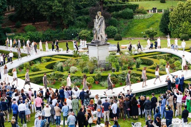 Birkenstock Runway Show at Torrigiani Gardens