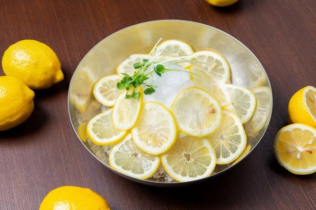 【夏限定】「シャリシャリレモン冷麺」