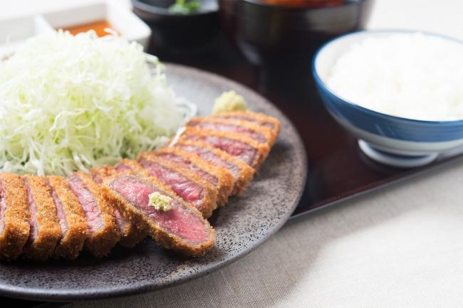 『牛カツ膳』:1,280円(+税)
