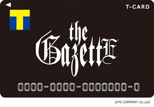 「Tカード(the GazettEデザイン)」