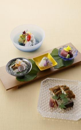 日本料理コース 「旬彩」より