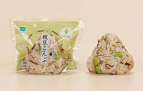 「スーパー大麦 枝豆こんぶ」ファミリーマートより現在終売