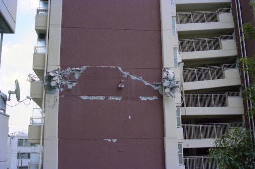 地震 マンション 破損