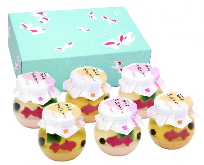 白桃・マンゴー×各3(計6個)