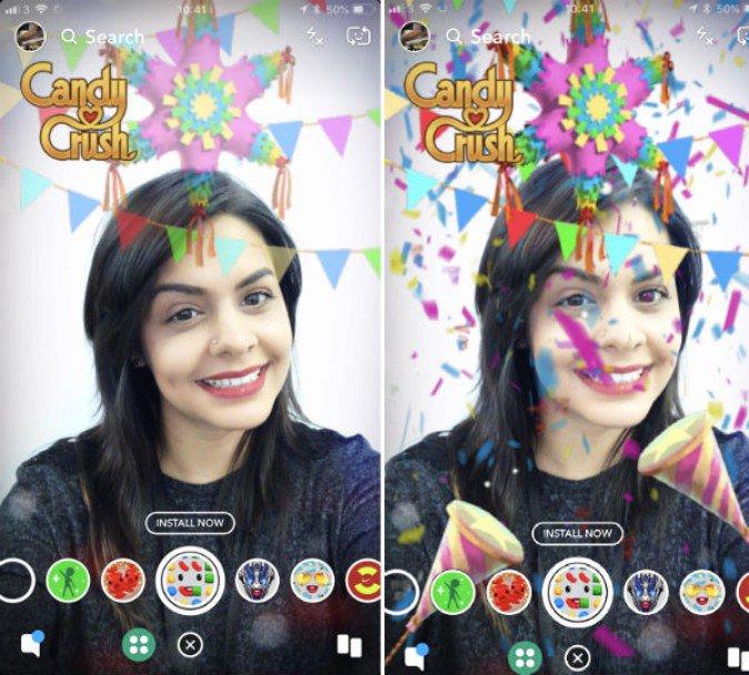 スナップチャットのAR新機能 アプリ内で商品購入まで完結 | Mogura VR
