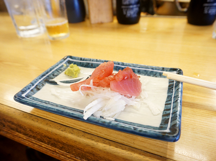 「マグロ」130円