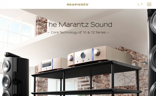 The Marantz Sound - Core Technology of 10 & 12 Series -