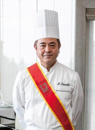 総料理長の田中耕太郎