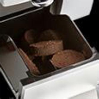 豆カスは自動的にカス入れにたまるので捨てるのも簡単