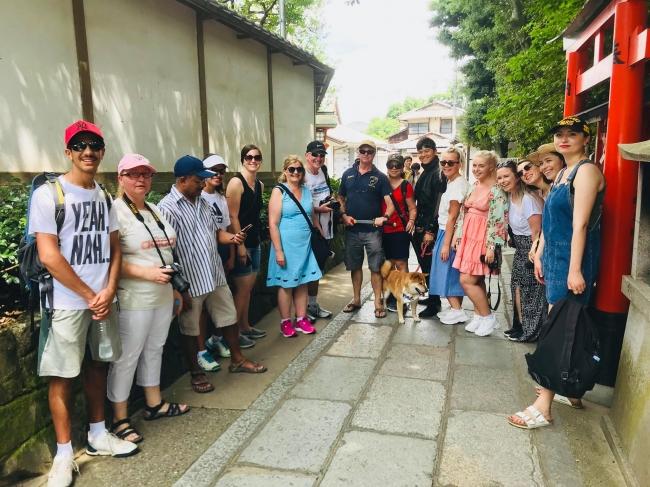 外国人観光客に忍者が大人気!
