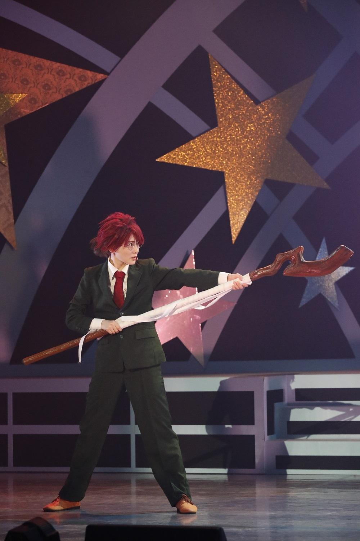 生駒里奈 (C)赤松健・講談社/舞台「魔法先生ネギま!」製作委員会2018