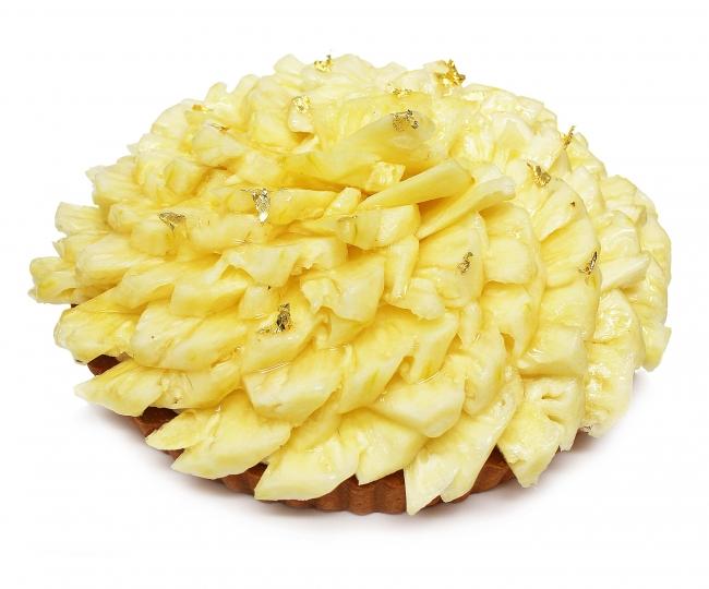 沖縄県石垣島産「パイナップル」のケーキ[ベース:フロマージュブラン]