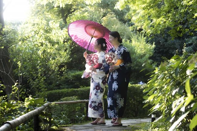フォーシーズンズホテル京都内、約1万平方メートルの広さを誇る名庭「積翠園」