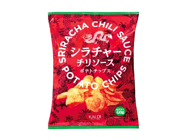 「オリジナル シラチャーポテトチップス」(192円)