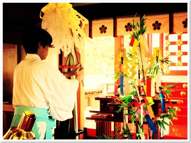 今年も須磨の天神さま 綱敷天満宮 でお焚き上げを行いました。