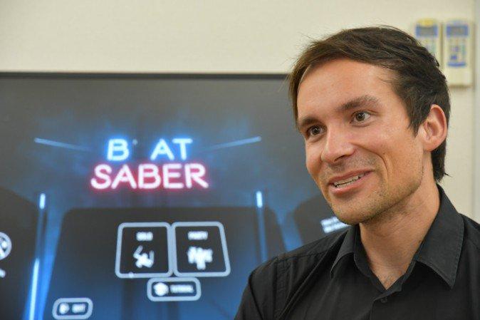 大ヒットVRゲームの舞台裏に迫る「Beat Saber」CEOインタビュー(前編) | Mogura VR