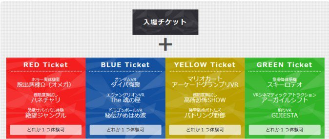 VR ZONE SHINJUKUのチケット体系が変更、より自由な体験が可能に | Mogura VR