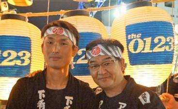 (左) 清水 達也(右)寺田 政登副社長