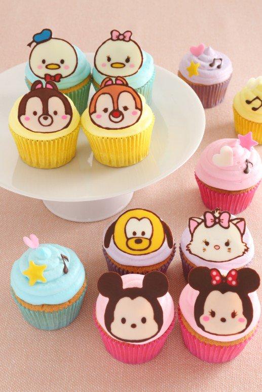 ディズニー ツムツム カップケーキ