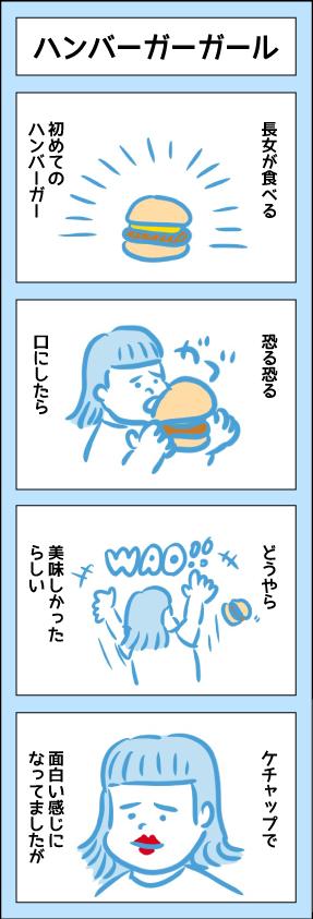 ハンバーガーガール
