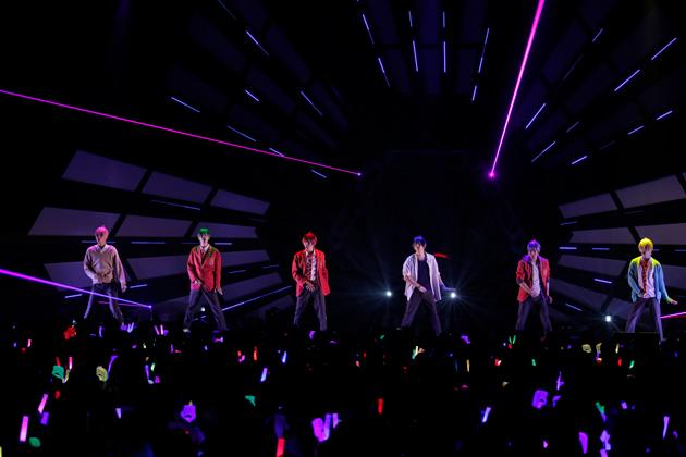 F6 1st LIVEツアー「Satisfaction」 (C)赤塚不二夫/「おそ松さん」on STAGE製作委員会2018