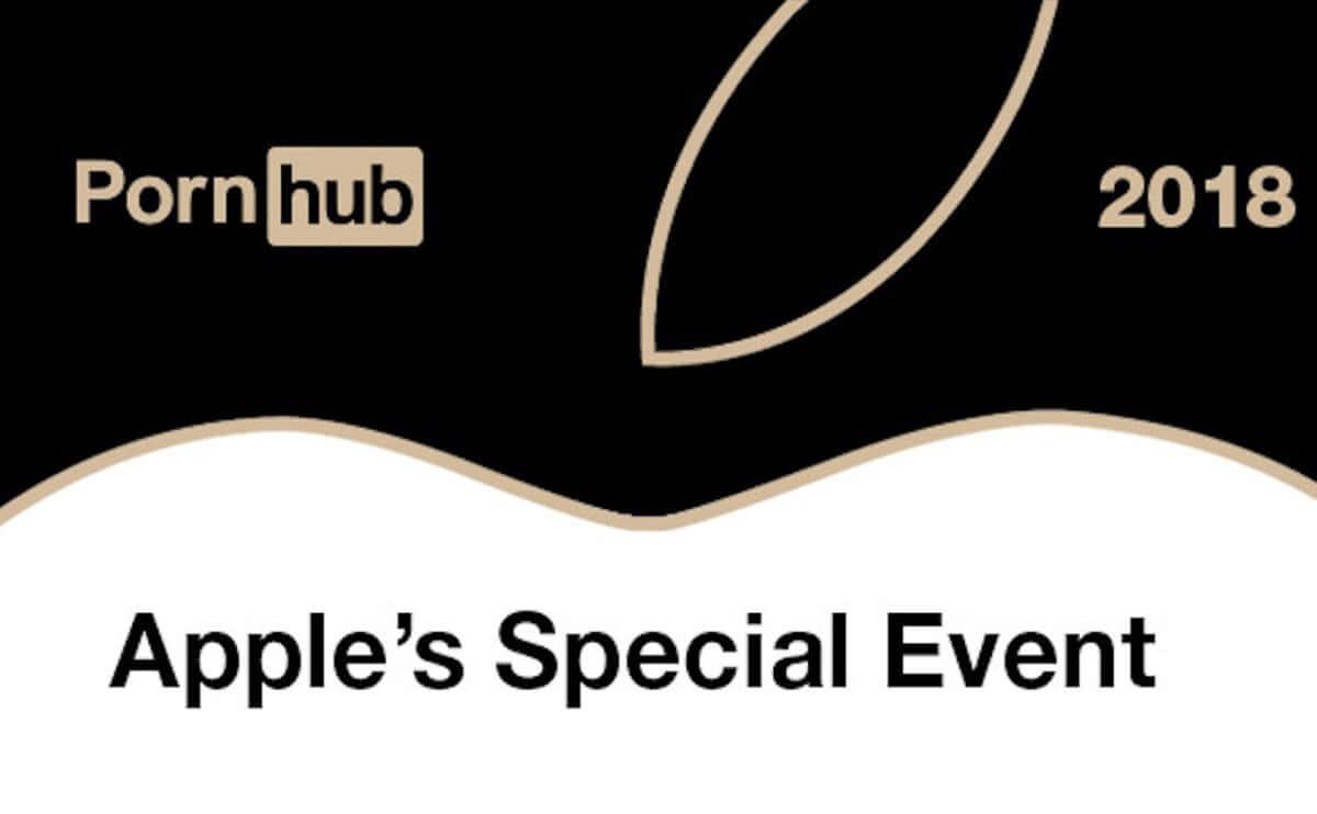 Pornhub Apple Special Event Insight 2018