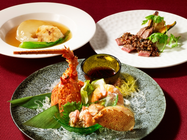 中国料理「彩湖」開業記念コース