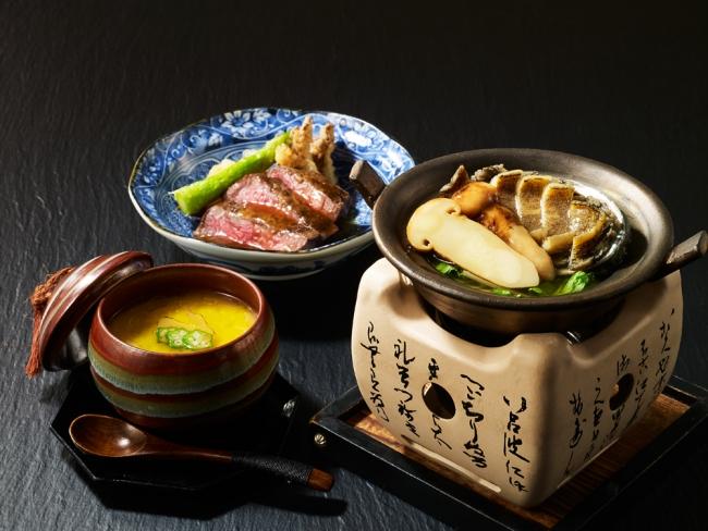 日本料理「四季彩」 秋の贅沢三昧懐石 (開業記念コース)