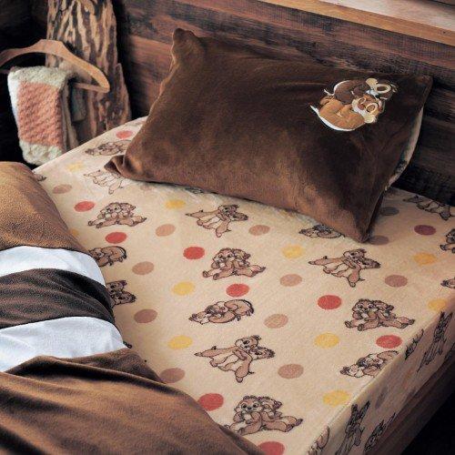 マイクロファイバーのアップリケ付き布団カバー3点セット ボックスシーツ 枕